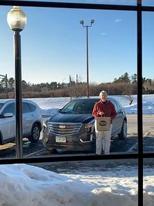 "MaryAnne with 2019 Cadillac XT4 ""Enterprise"" Rental Car @ ""Tobies Restaurant & Bakery"""