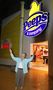 May 15, 2013 - (Mall of America [Nickelodeon amusement area] / Bloomington, Hennepin County, Minnesota) -- Mary Anne at the Peeps' Store