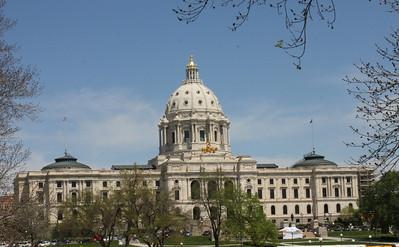 May 16, 2013 - (Minnesota State Capitol / St Paul, Ramsey County, Minnesota) -- State Capitol Building