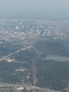 Minneapolis Skyline from Southwest Airlines