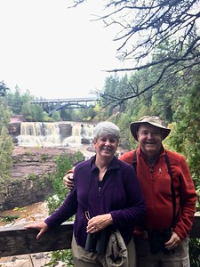 MaryAnne & David @ Gooseberry Falls SP