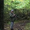 David on the Black Bay Trail @ Hurkett Cove Conservation Area