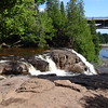 The Gooseberry River has several waterfalls.