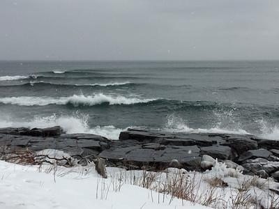 Lake Superior Waves @ Stoney Point