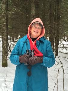 MaryAnne @ Sax-Zim Bog [Loretta's Feeders on Kelsey-Whiteface Road]