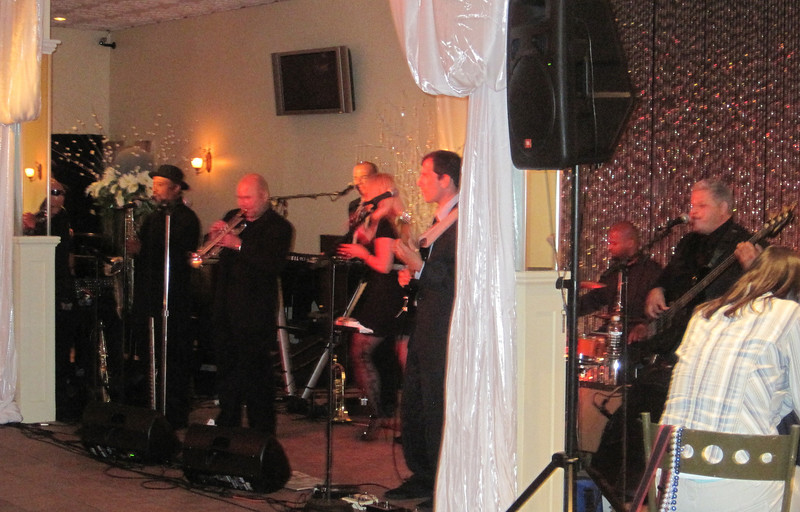 June 24, 2011 (New Orleans [Bourbon Street / Saint Louis Street] / Orleans Parish, Louisiana) - Band performing for Sirsi/Dynex reception at ALA