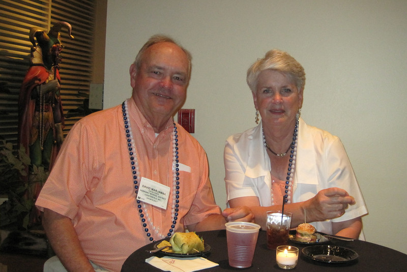 June 24, 2011 (New Orleans [Bourbon Street / Saint Louis Street] / Orleans Parish, Louisiana) - David & Mary Anne attending Sirsi/Dynex reception at ALA