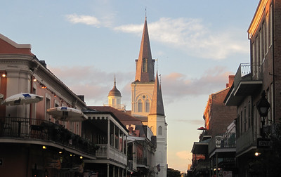 June 24, 2011 (New Orleans [Chartres Street / Jackson Square] / Orleans Parish, Louisiana) - St Louis Cathedral