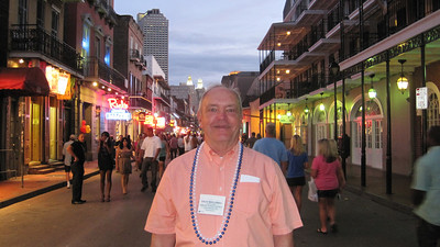 June 24, 2011 (New Orleans [Bourbon Street] / Orleans Parish, Louisiana) - David on Bourbon Street