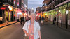 June 24, 2011 (New Orleans [Bourbon Street] / Orleans Parish, Louisiana) - Mary Anne on Bourbon Street
