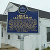 Blues Trail Marker, Abbay and Leatherman