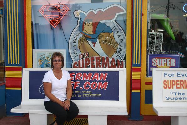 Lori in Metropolis IL, the home of Superman ( 2012 )