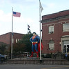 The Superman Statue in Metropolis IL ( 2012 )