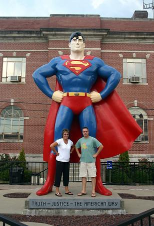 Lori and Todd in Metropolis, IL ( 2012 )