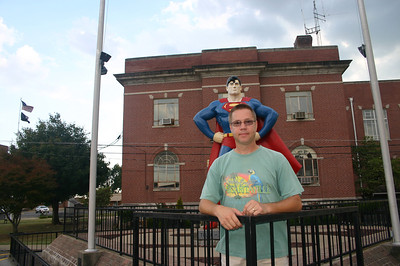 Todd and Superman in Metropolis, IL ( 2012 )