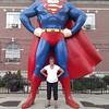 Lori and Superman in Metropolis, IL ( 2012 )