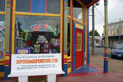 The Superman museum in Metropolis, IL ( 2012 )