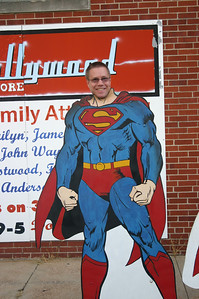 Todd as Superman in Metropolis, IL ( 2012 )