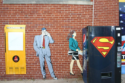 On the streets of Metropolis, IL the home of Superman ( 2012 )