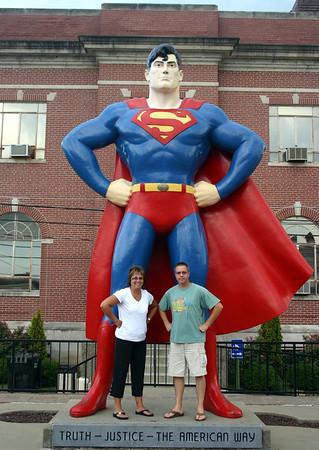 Todd and Lori in Metropolis, IL ( 2012 )