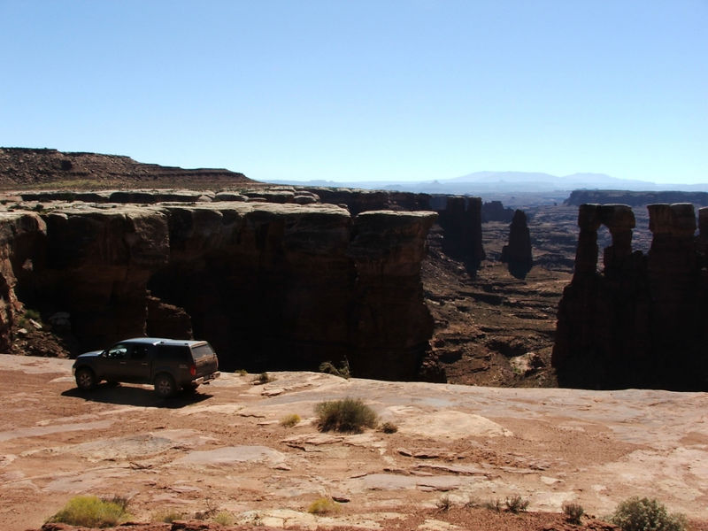 White Rim Trail, Canyonlands NP, Island in the Sky District.