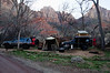 Camp at Zion setup.  We spent two days here.