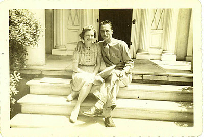 Mom and Dad in 1943 Savannah