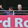Mom and Dad in the Redbird Roost, Springfield Cardinals AA baseball.