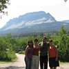 We are sooo cool....Hanging out in Glacier National Park