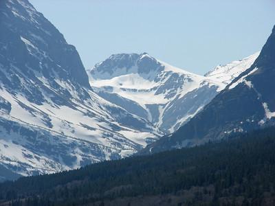 May 16, 2008 (Many Glaciers Entrance to Glacier Nat'l Park) - Mountains
