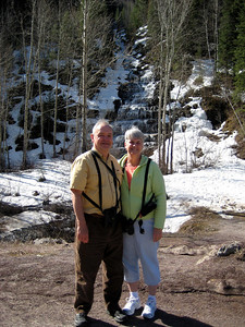 May 16, 2008 (Hwy 2 / Stairstep Waterfalls) - David & Mary Anne