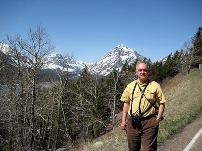 May 16, 2008 (Hwy 89) - East Glacier Park mountains & David