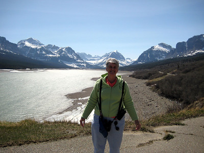 May 16, 2008 (Many Glaciers Entrance to Glacier Nat'l Park) - Mountains, Lake Sherburne & Mary Anne