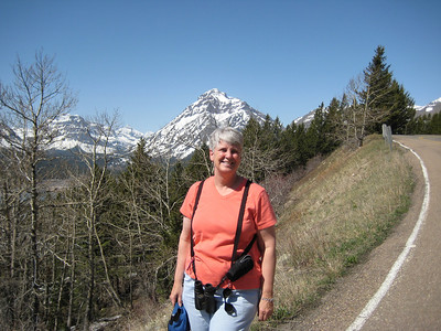 May 16, 2008 (Hwy 89) - East Glacier Park mountains & Mary Anne