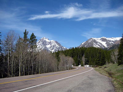 May 17, 2008 (Two Medicine Entrance to East Glacier Nat'l Park) - Mountains