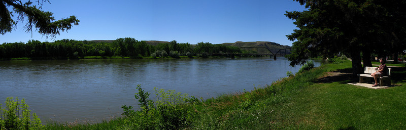 Missouri River at Fort Benton-2