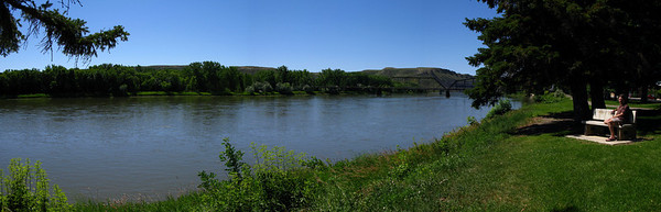 Missouri River at Fort Benton-2