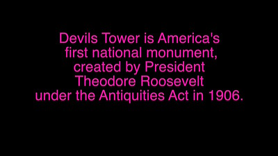 VIDEO:  Devils Tower2, Wyoming  ~~ Version 2 with added narrative.   ( 12 mins)