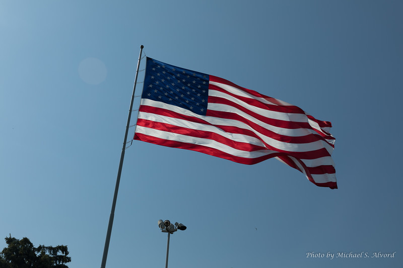The Flag NEVER gets old.