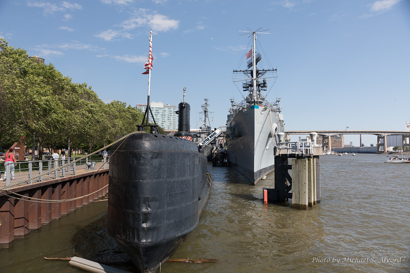 They also had a couple of navy ships there as museums.