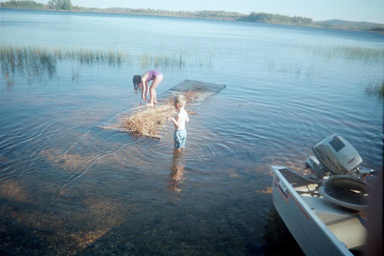 Retrieving dock.