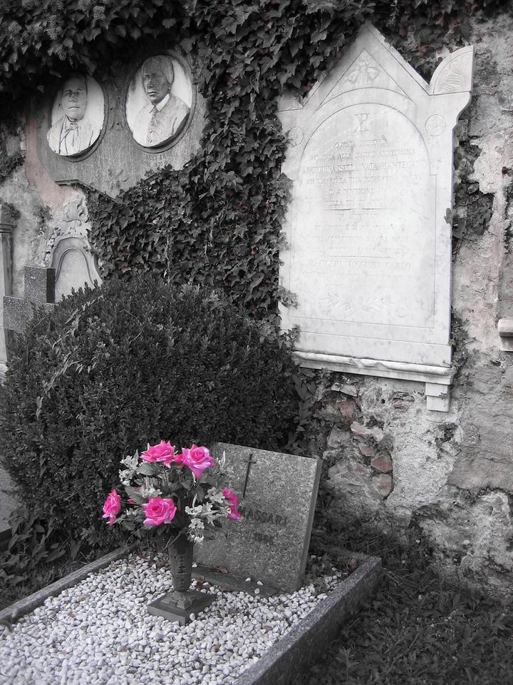 Old graves in Morcote