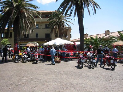 Motogiro Sicilia 2004: day before