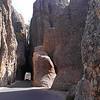 Tunnel on Needles Highway.