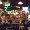 Inside Sanford's for dinner