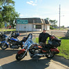 Arriving in Wolf Point, MT, after our 724 mile first day.