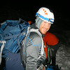 Getting geared up a 1am for the hike to the summit