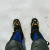 Crampons are your friend