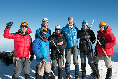 The group at the very top, everyone made it just didn't get in this shot.
