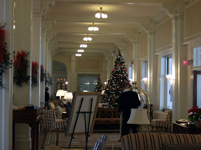 more of the lobby of the Mount Washington Hotel